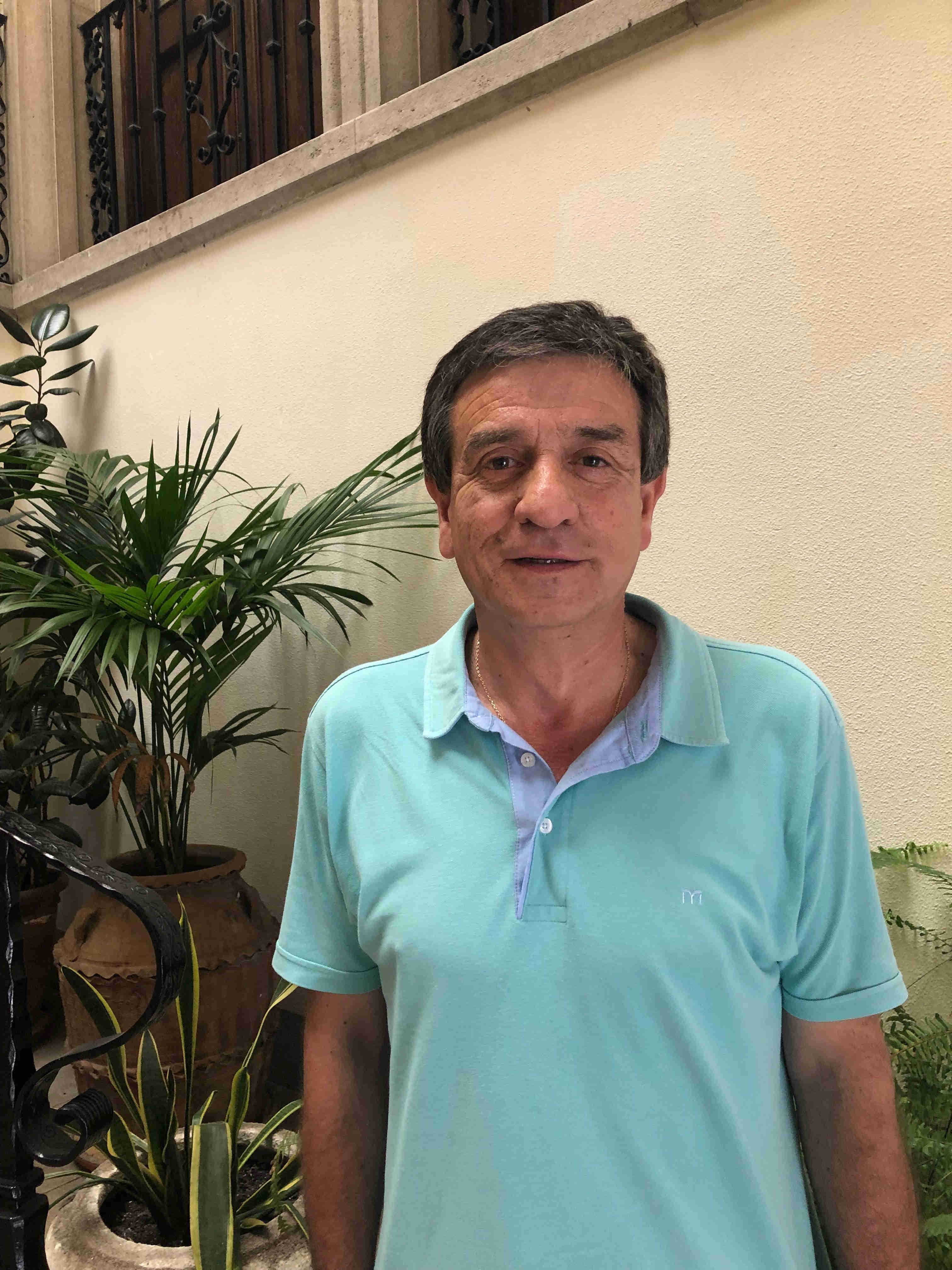 Concejal Vicente Hervás